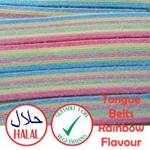 Jelly Molly Fizzy Belts (Halal)