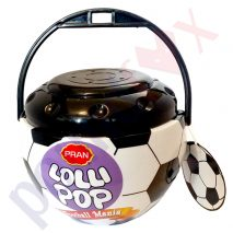Football Lollipops/Lollies Assorted Fruit Flavoured Halal