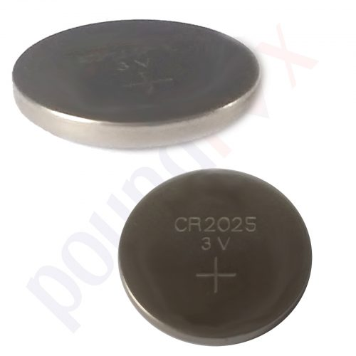 MAXELL CR2025 3V Lithium Button Batteries in Blister Pack - Long Expiry