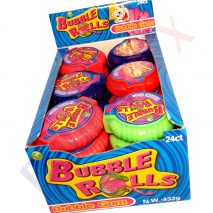 BUBBLE ROLLS Fruit Flavoured Yummy CHEWING GUM