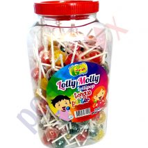 Tongue Painter Lollipops Assorted Fruit Flavoured Halal- Jelly Molly