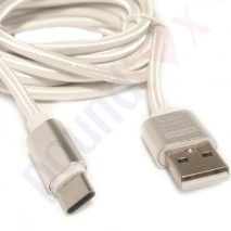 Braided 2.4A High Speed Charger and Data Cable Type-C 4G Android 3m