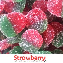 Jelly Molly Sugar Coated Strawberry Chewy Gummy Candy *HALAL