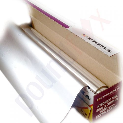 Extra Long Aluminium Kitchen Foil 300mm X 30m