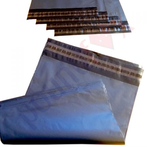 25x35cm Grey Strong Plastic MAILING BAGS PACK n MAIL Bags