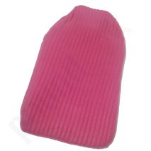 Cozy Hot Water Bottle with Fleece Cover 3 colours/design 2 Litre