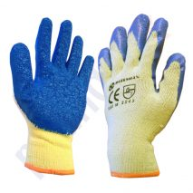 Builder Grip Latex Work Comfort Gloves Size 10XL