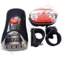 Bicycle Ultra Brilliant Power Beam LED Head and Tail Light