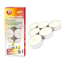 20 Tea Lights Smooth Burning Candles